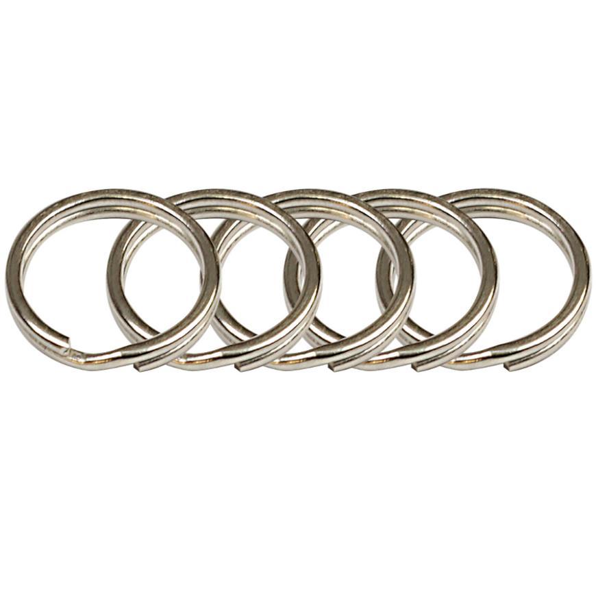 Ocelový kroužek na klíče rvr.rx.15.KR.5ks
