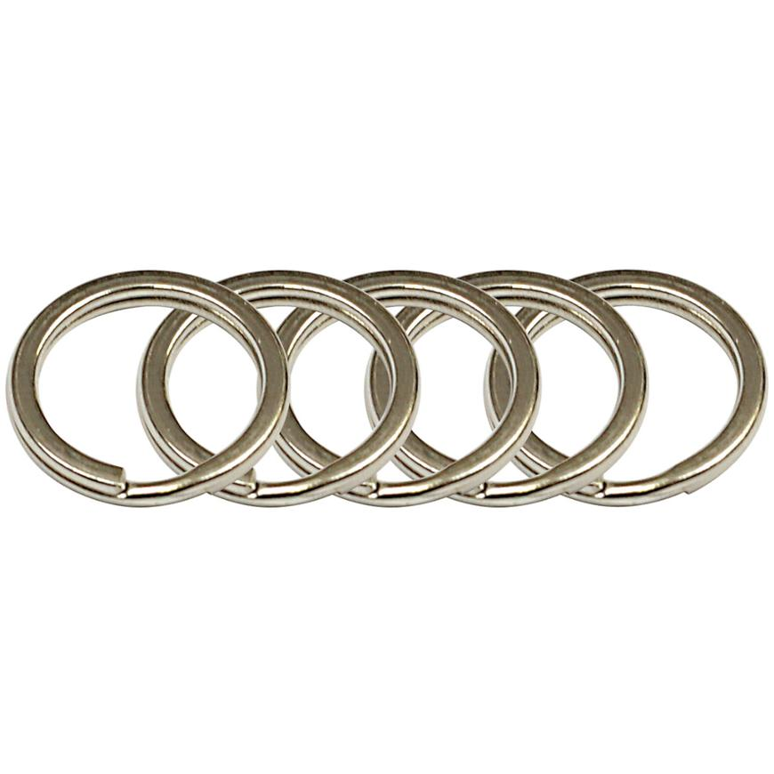 Ocelový kroužek na klíče rvr.rx.15.PL.5ks