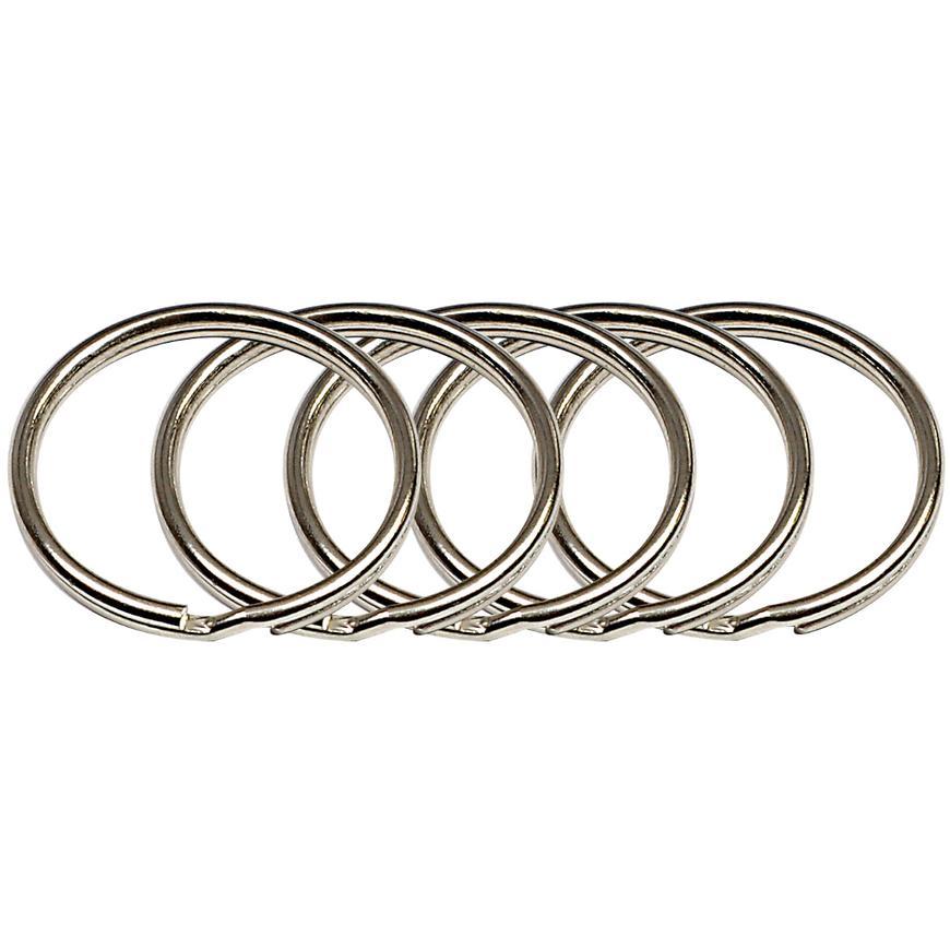 Ocelový kroužek na klíče rvr.rx.20.KR.5ks