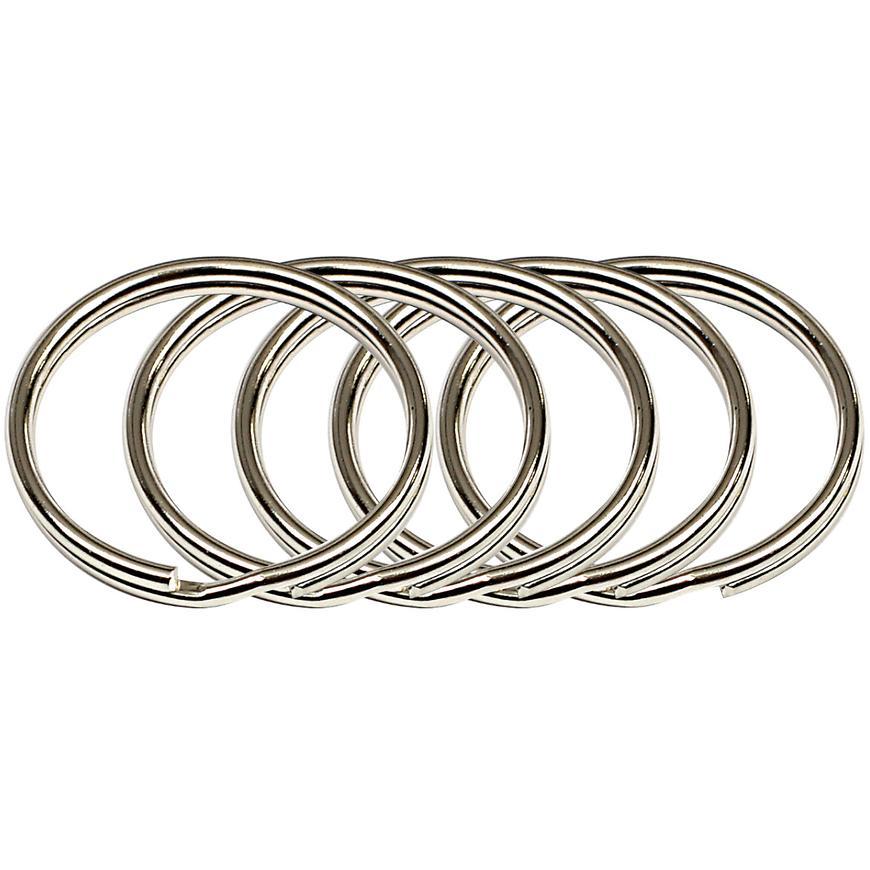 Ocelový kroužek na klíče rvr.rx.25.KR.5ks