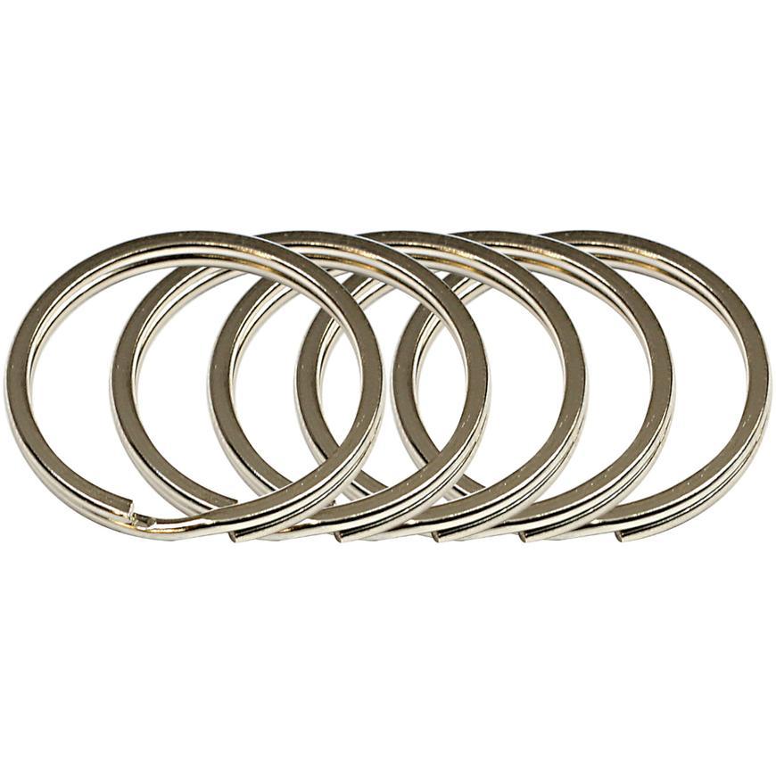 Ocelový kroužek na klíče rvr.rx.25.PL.5ks