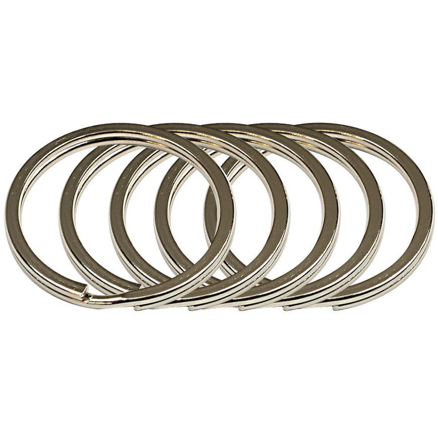 Ocelový kroužek na klíče rvr.rx.30.PL.5ks