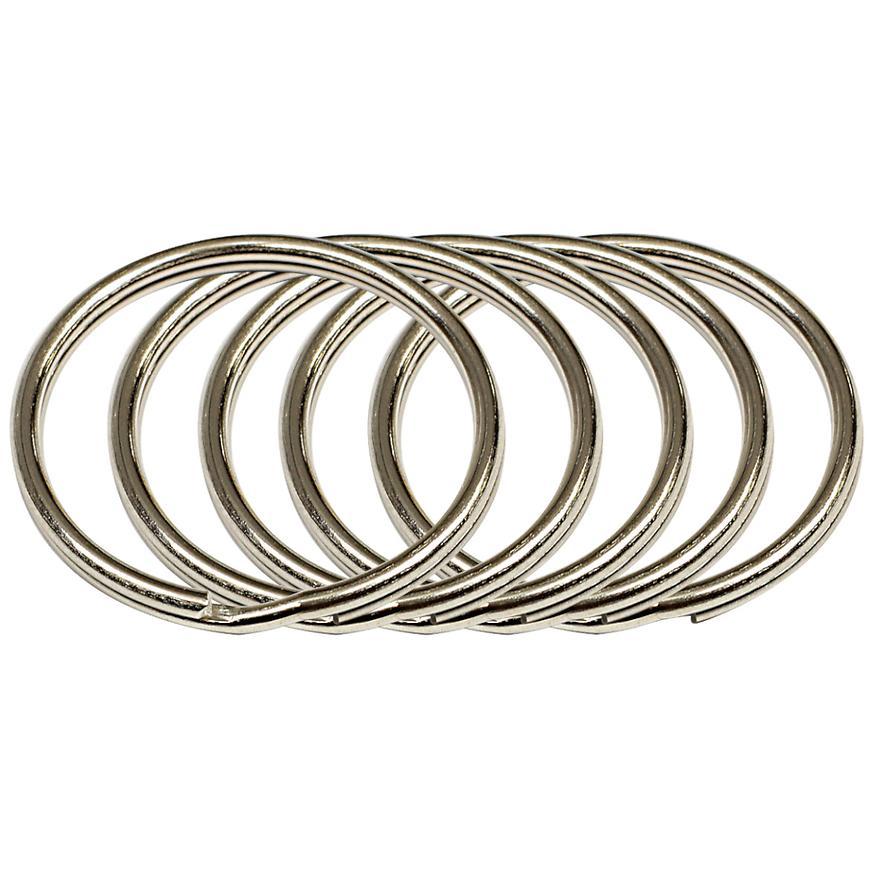 Ocelový kroužek na klíče rvr.rx.35.KR.5ks
