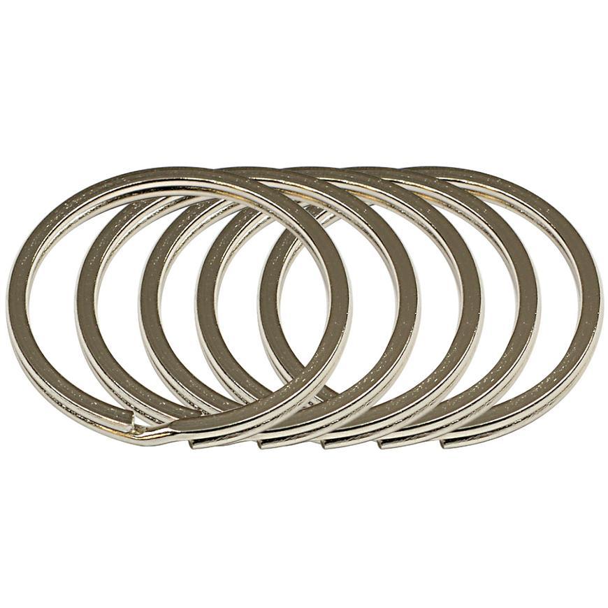 Ocelový kroužek na klíče rvr.rx.35.PL.5ks