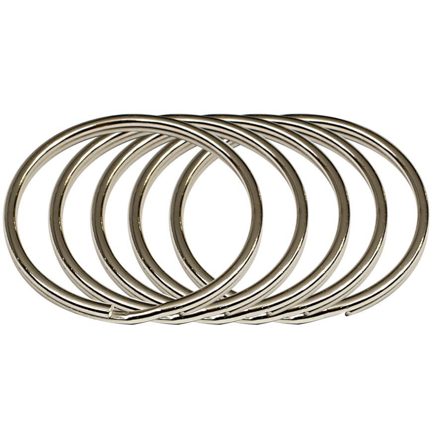 Ocelový kroužek na klíče rvr.rx.40.KR.5ks