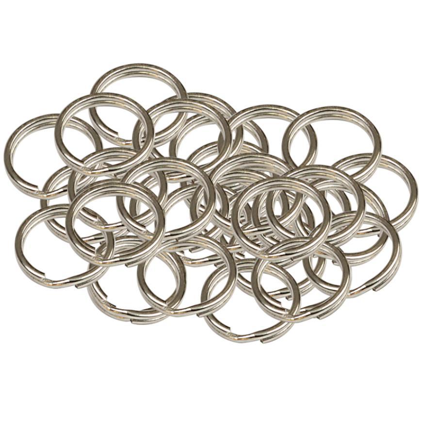 Ocelový kroužek na klíče rx.15.KR 50ks