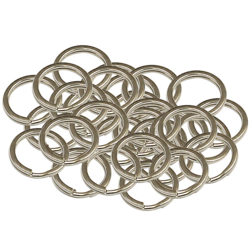 Ocelový kroužek na klíče rx.15.PL 50ks