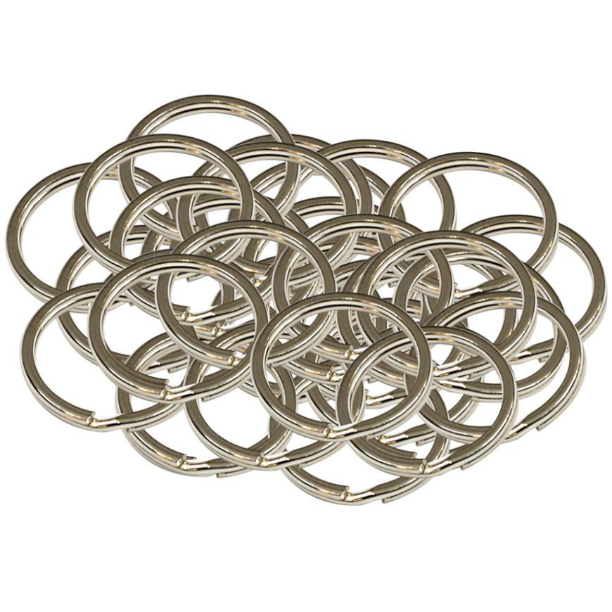 Ocelový kroužek na klíče rx.20.PL50ks