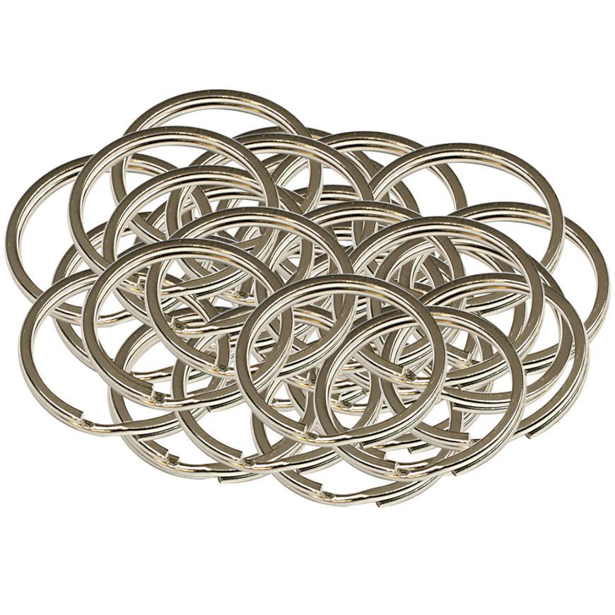 Ocelový kroužek na klíče rx.25.PL50ks