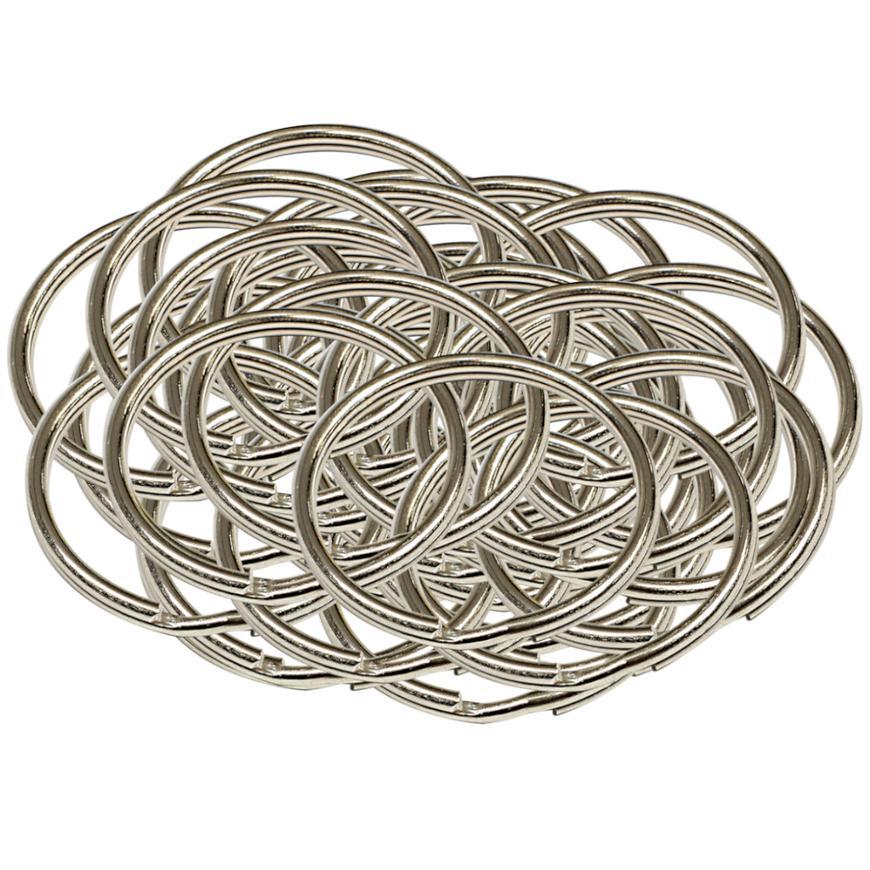 Ocelový kroužek na klíče rx.35.KR 50ks