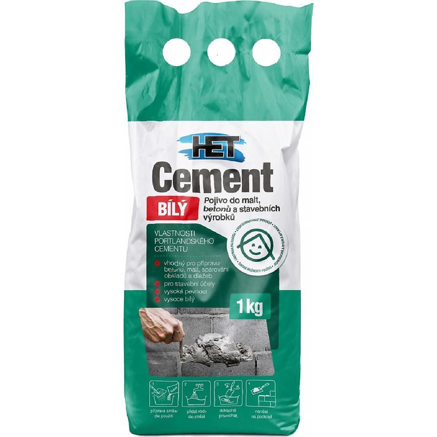 Cement bílý 1kg