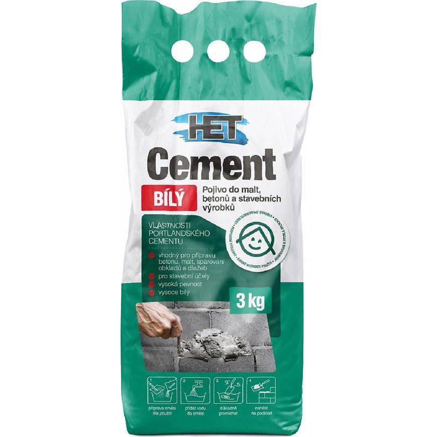Cement bílý 3kg