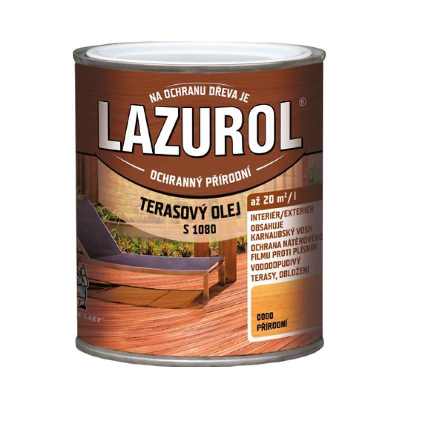 Lazurol terasový olej bezbarvý 0,75l