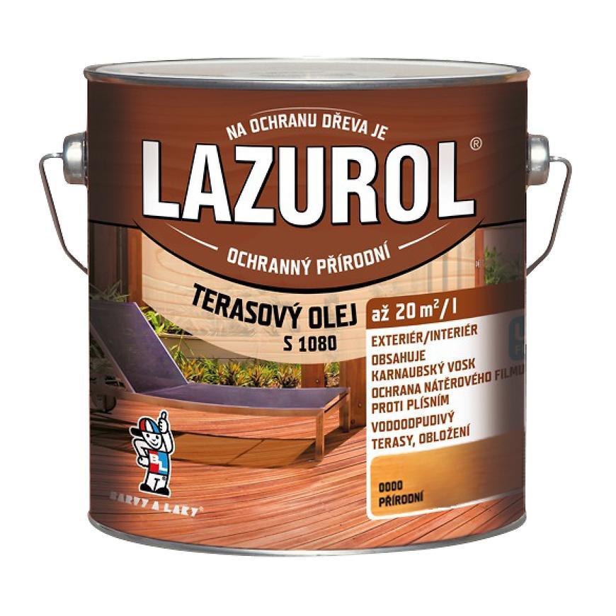 Lazurol terasový olej bezbarvý 2,5l