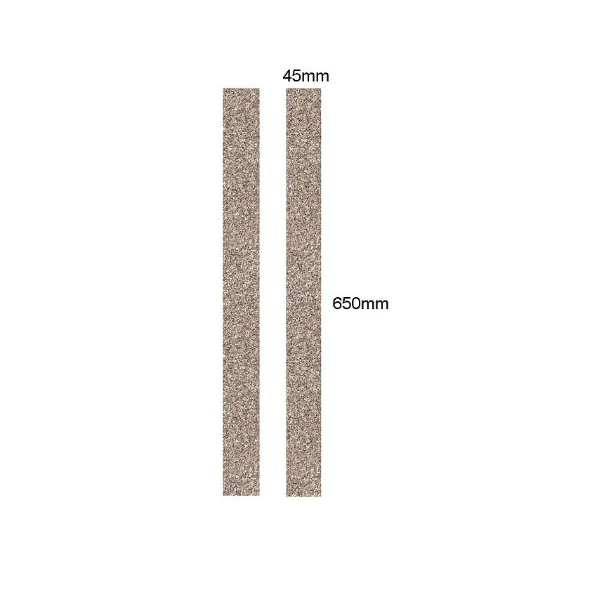 Hrana s lepidlem 3994 Granit 650x45x0,8mm 2ks