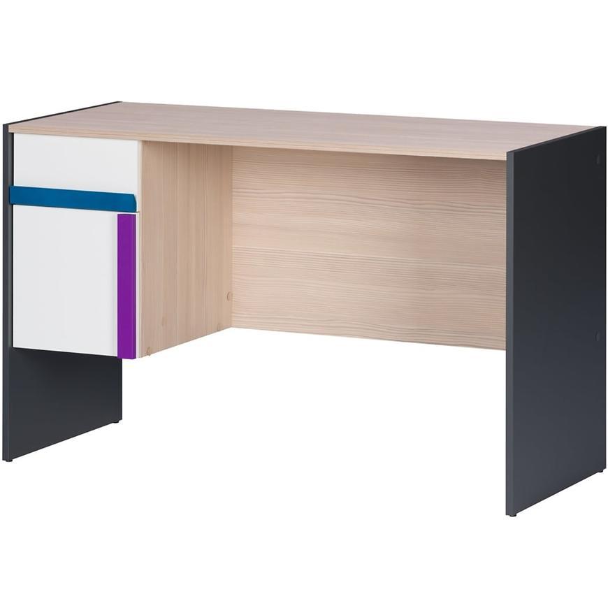 Psací Stůl Ikar 40 Bílá/Grafit/Borovica Abvola