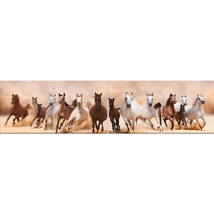 Skleněný panel 60/240 Horses 4-Elem