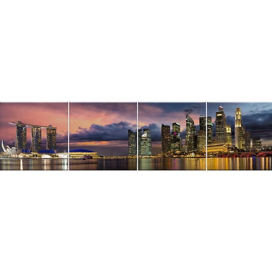 Skleněný panel 60/240 City-5 4-Elem