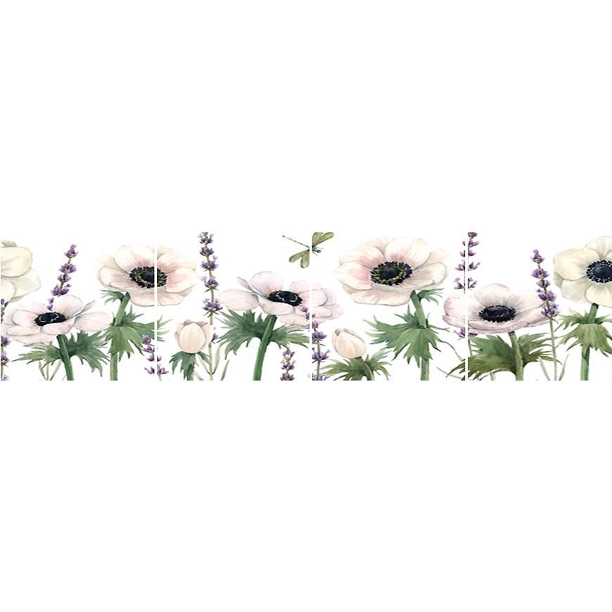 Skleněný panel 60/240 Flowers-2 4-Elem