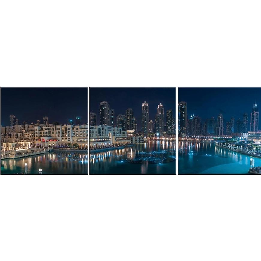 Skleněný panel 60/180 City-8 3-Elem