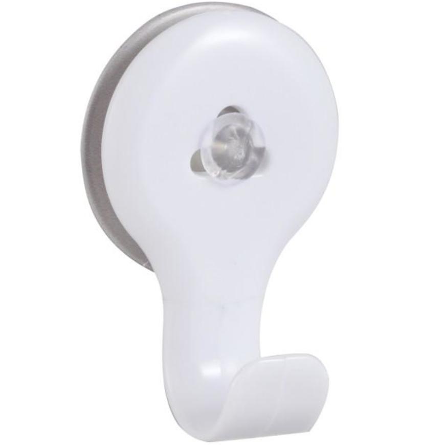 Háček PVC s přísavkami white Yapi-h1-wht