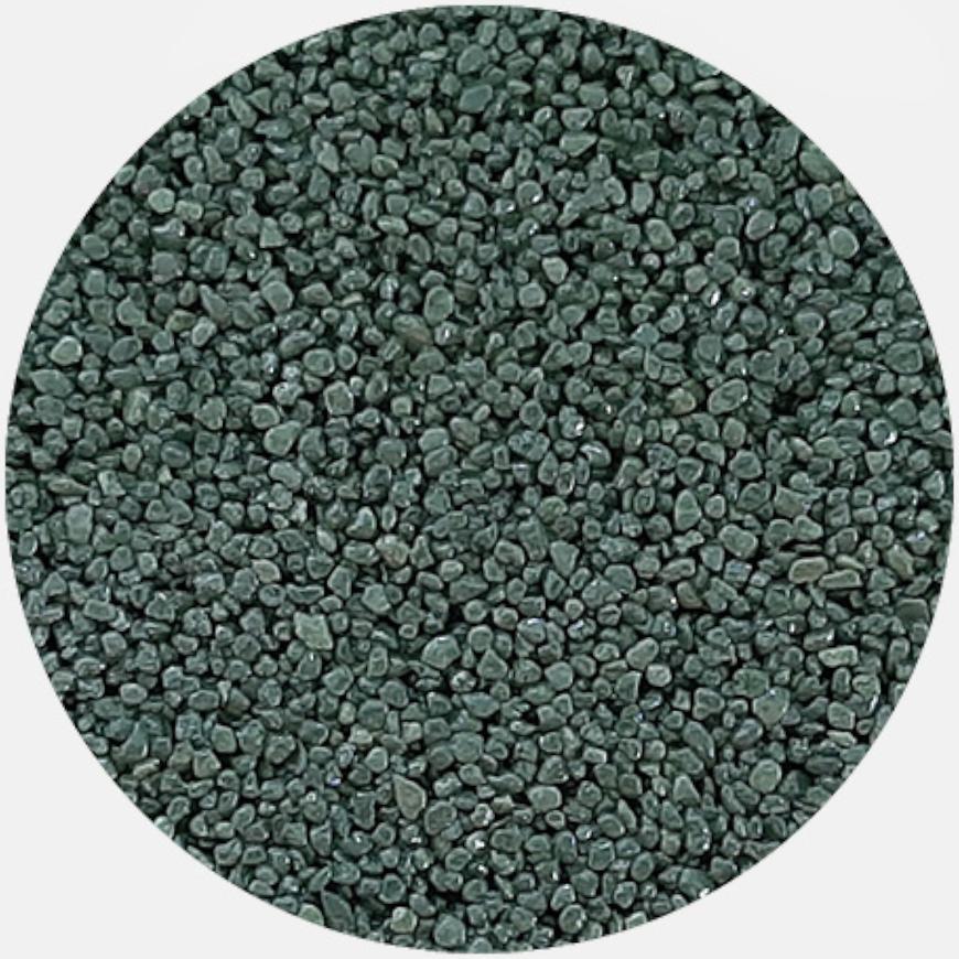 Kamenivo pro Tekutou dlažbu zelená 15,91 kg