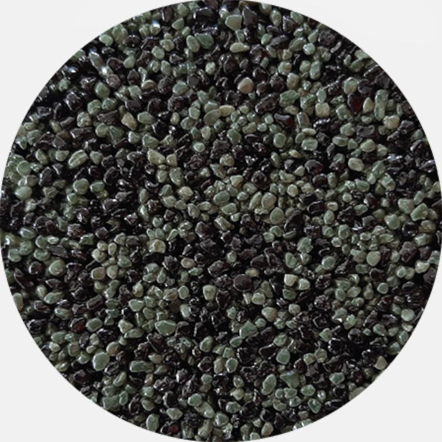 Kamenivo pro Tekutou dlažbu černá-zelená 15,91 kg