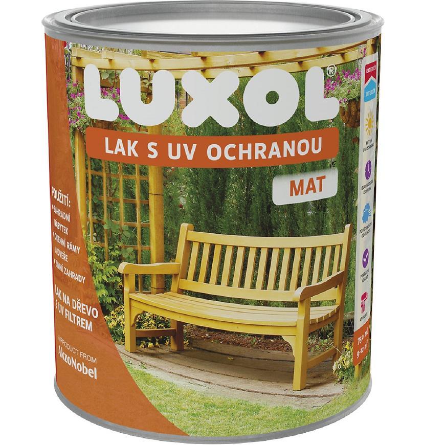 Luxol lak s UV ochranou mat 0,75l