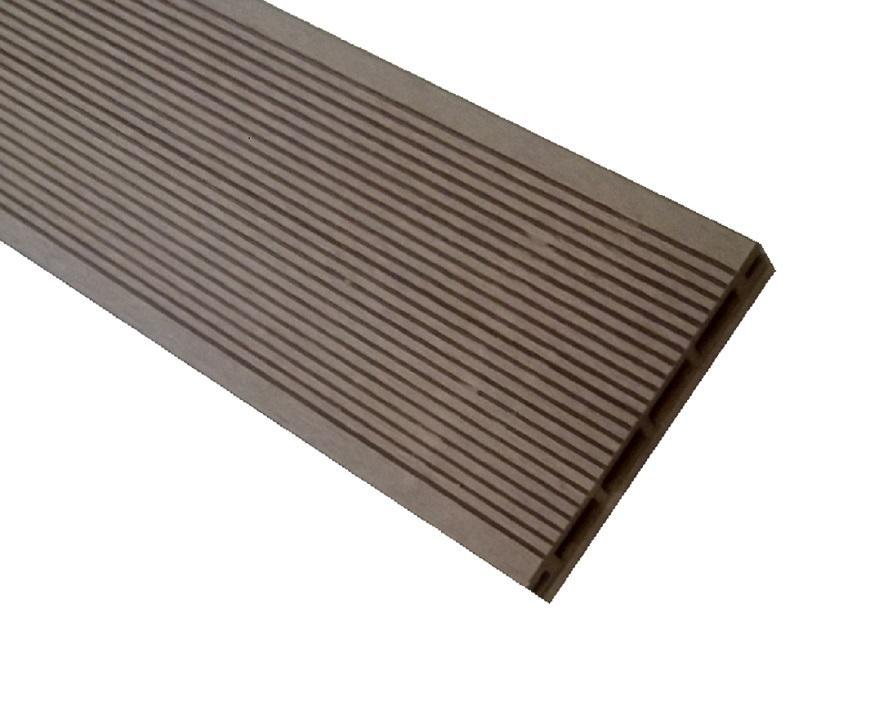 Kompozitní terasová prkno mercado hnědý 2400x135x25mm