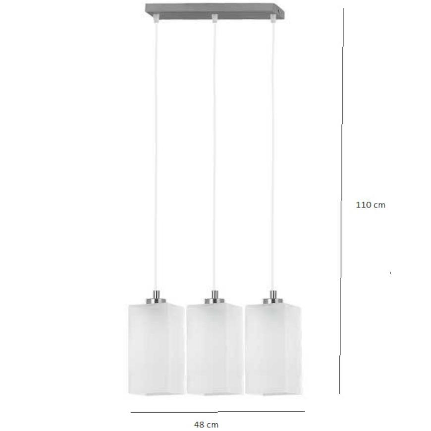 Závěsné svítidlo Ice 116-3pl