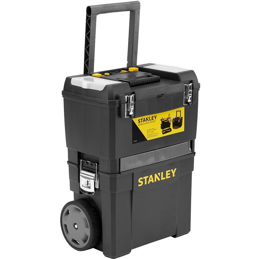 Stanley pojízdný montážní box 2v1