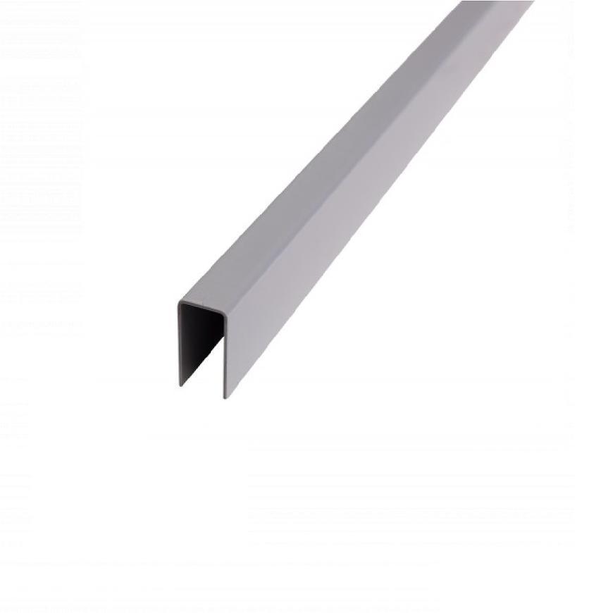 Plotová montážní lišta Terra šedá 2000x42x22mm