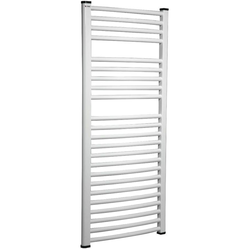 Koupelnovy radiátor OVAL 600/1000 bílý