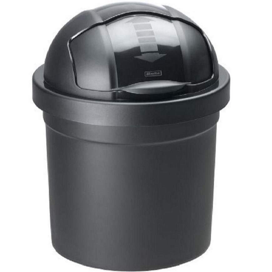 Odpadkový koš 10 l Roll Bob černý