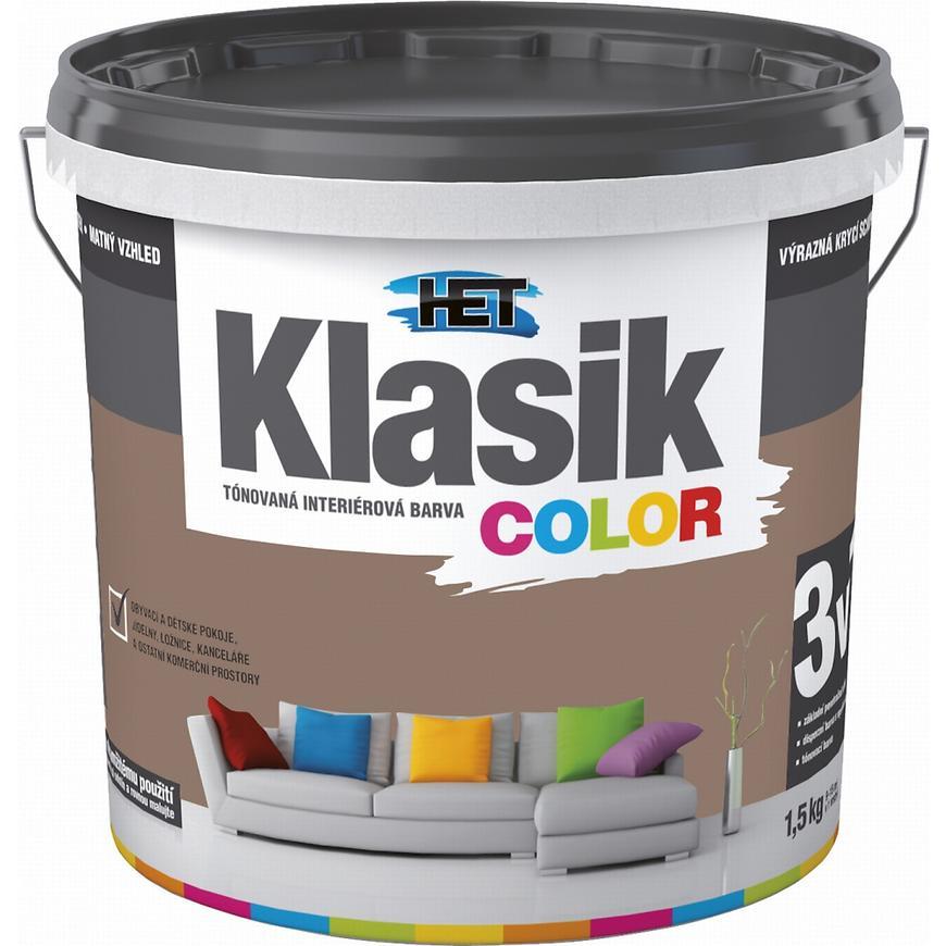 Het Klasik Color 0297 hnědý nugátový 1,5kg