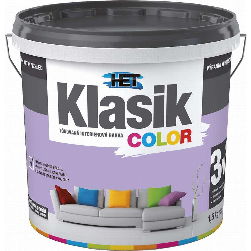 Het Klasik Color 0327 fialový lila 1,5kg