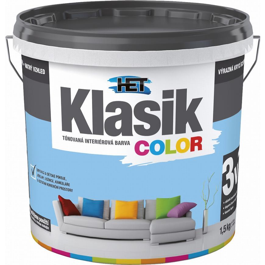 Het Klasik Color 0407 modrý blankytný 1,5kg
