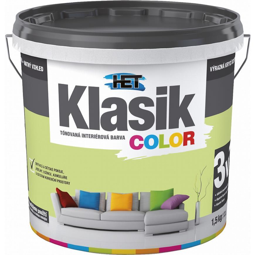 Het Klasik Color 0528 zelený pistáciový 1,5kg