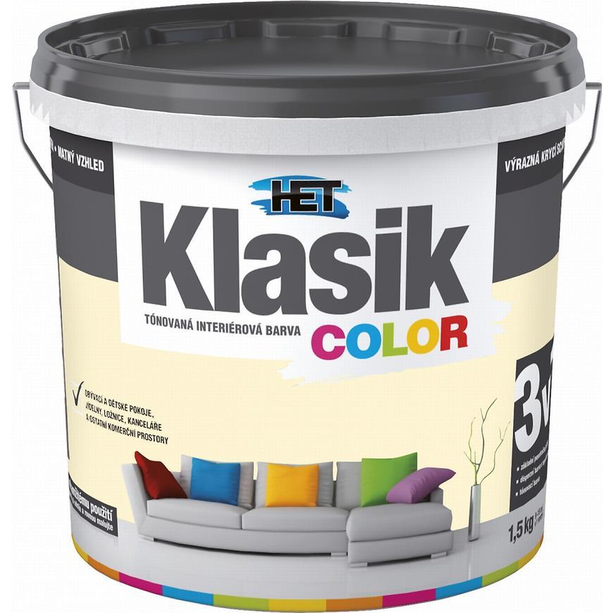 Het Klasik Color 0667 žlutý vanilkový 1,5kg