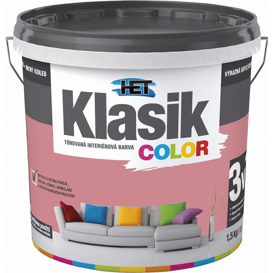 Het Klasik Color 0808 červený cihlový 1,5kg