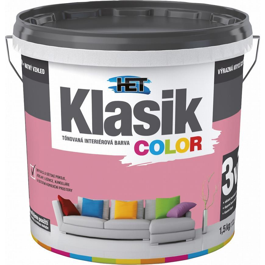 Het Klasik Color 0837 růžový 1,5kg