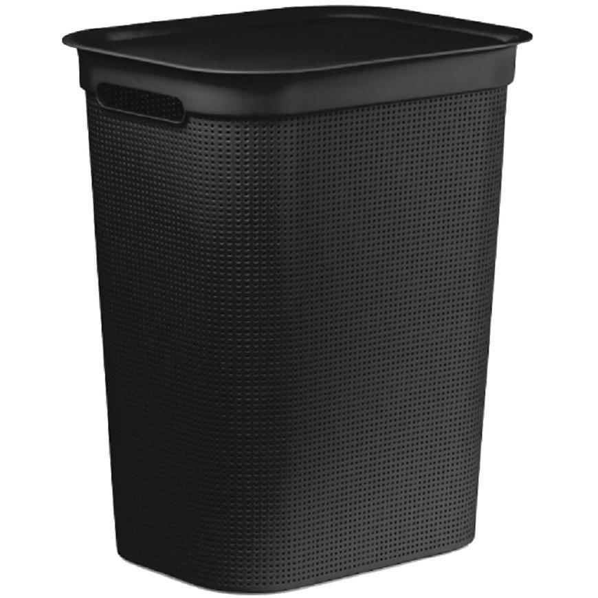 Rotho prádelní koš 50l Brisen černý
