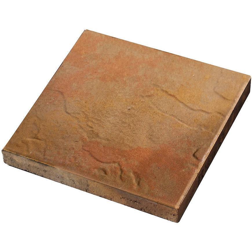 Terasová dlažba skála  30x30x4cm zlatý lesk