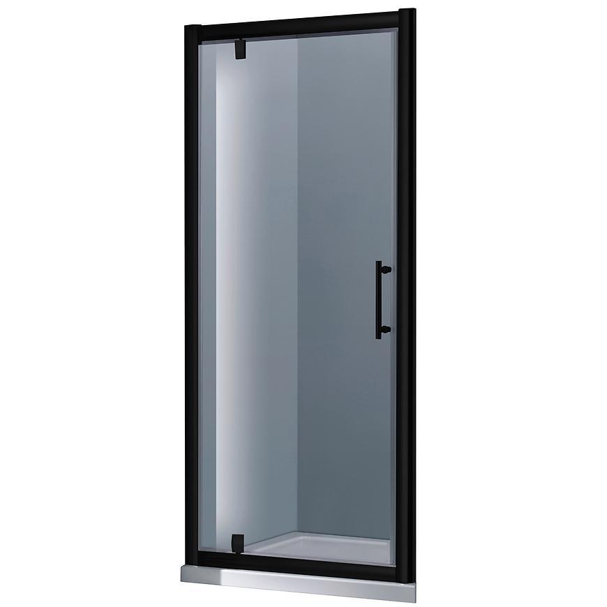 Sprchové dveře Marko 90x190 černý profil