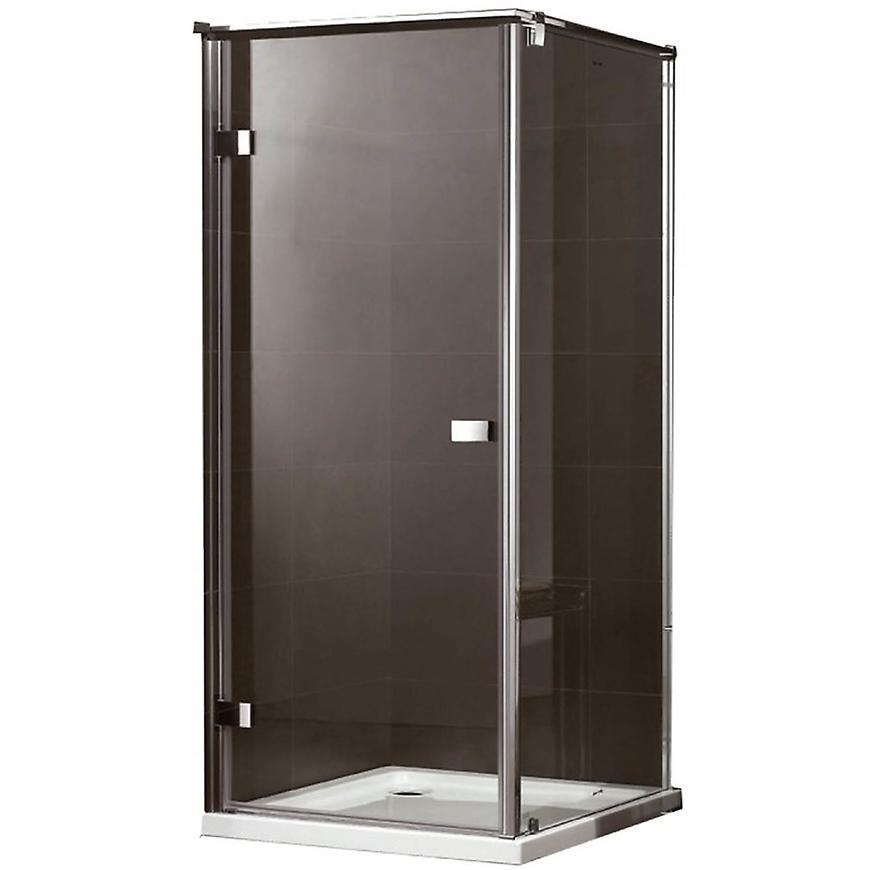 Sprchový kout Maja 100X100X190 čiré sklo - chrom
