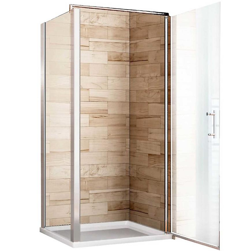 Sprchový kout Atena 100x100x190 čiré sklo - chrom