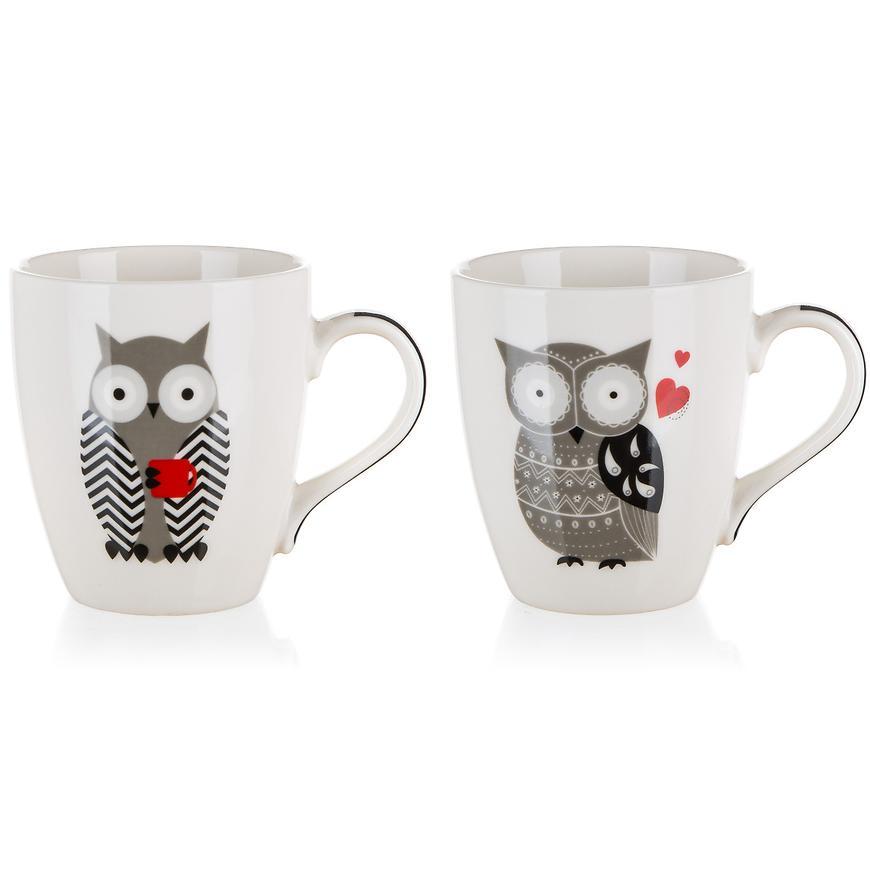 Hrníček keramický Owl 240ml mix 60221587