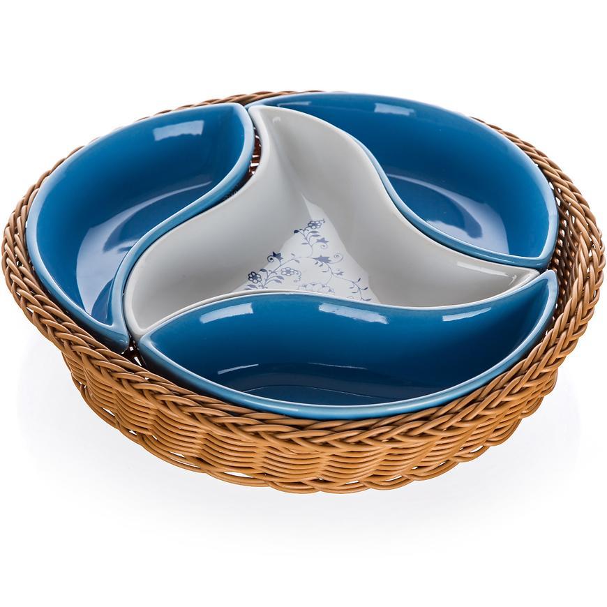 Salátová miska v košíku Onion 23cm 4cz 60335500