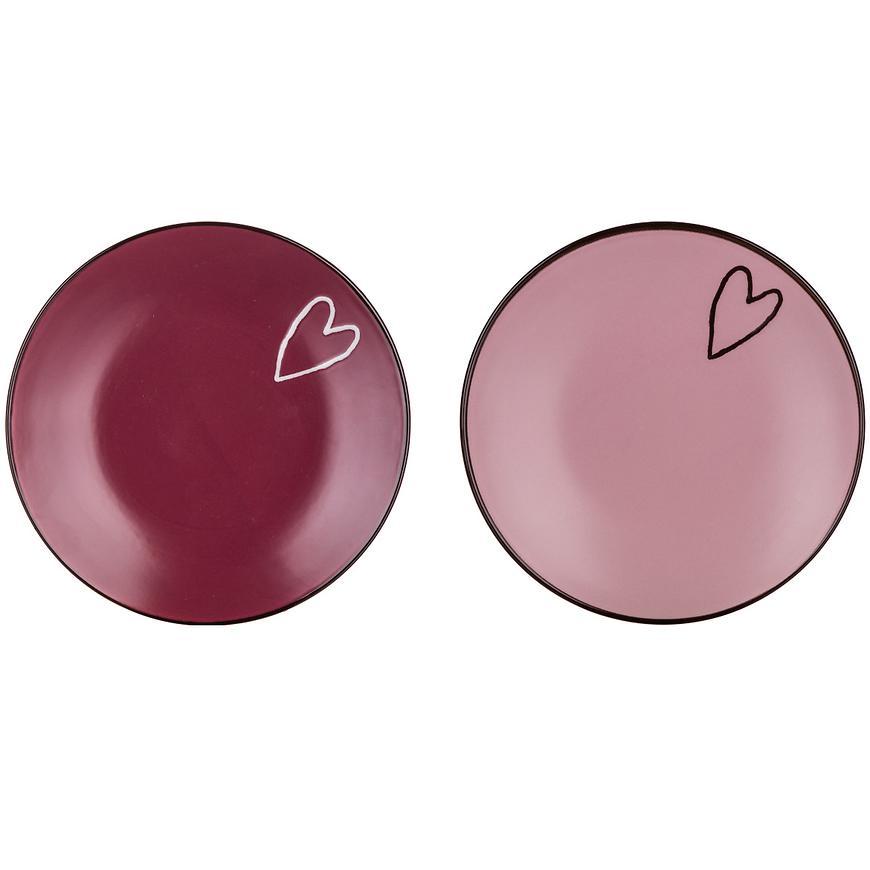 Dezertní talíř Heart 19 cm, mix 60325021