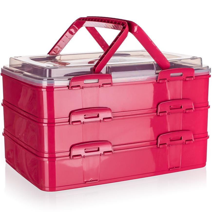 Box na zákusky s úchyty 42x29x 25 cm 55079032